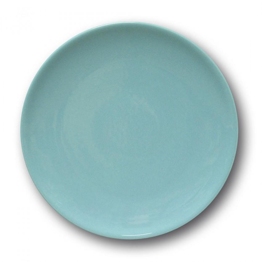 Lot de 6 assiettes à entrée et à dessert Bleue - D 21 cm - Siviglia