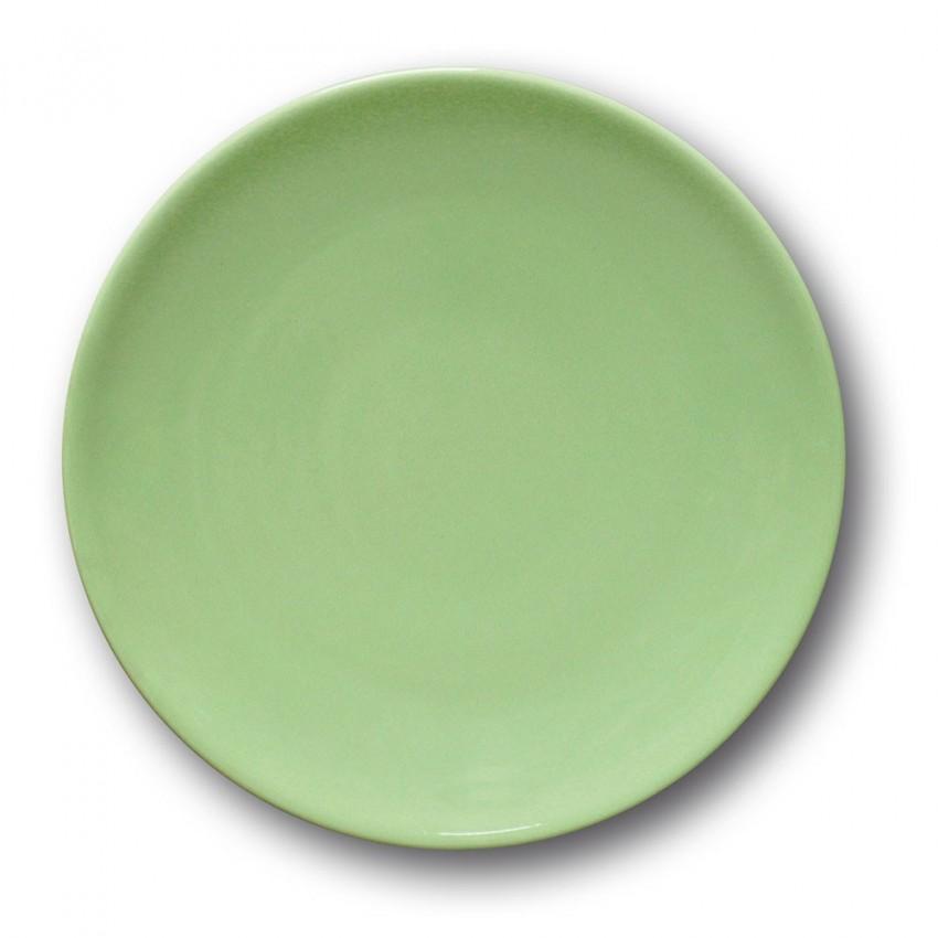 Assiette à entrée et à dessert Vert - D 21 cm - Siviglia