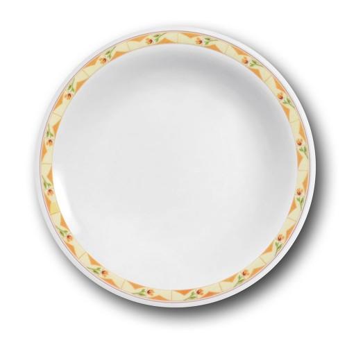 Lot 6 assiettes creuses Souvenir - D 23 cm