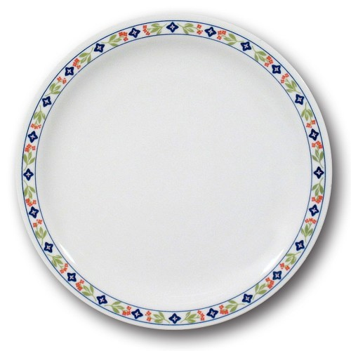 Lot de 6 assiettes plates Maman - D 26 cm