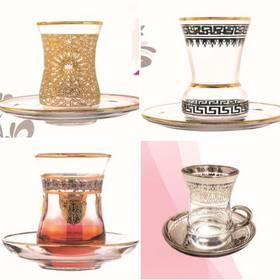 Les nouveaux verres à thé égyptien viennent d'arriver et vous attendent sur notre site internet 😊 #verresegyptien#yodeco#artdelatable#verreathé